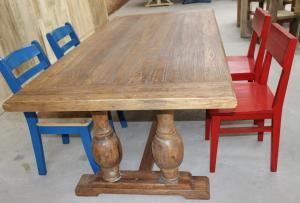 廠家直銷正宗原木原生態餐桌板 老榆木門板茶幾 時尚簡約咖啡桌