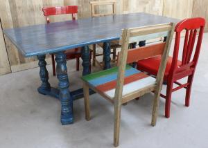 正品北京创意浪漫休闲老榆木西餐咖啡厅会所展示台餐桌办公桌椅