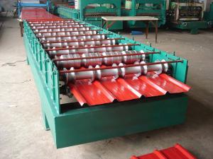 全自动850彩钢压瓦机设备河北鼎泰提供