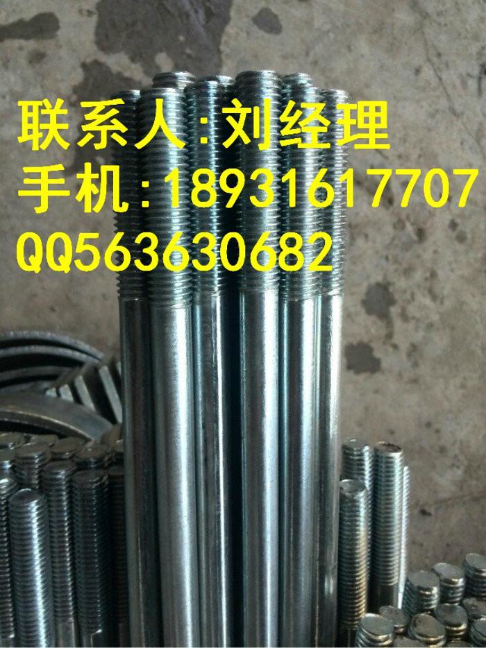 供应热镀锌拉杆,螺栓,拉条防腐蚀能力强