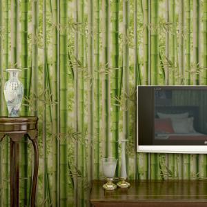 无纺布竹子背景墙壁纸