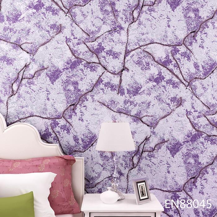 立体发泡雪山岩石纹背景墙客厅无纺布壁纸