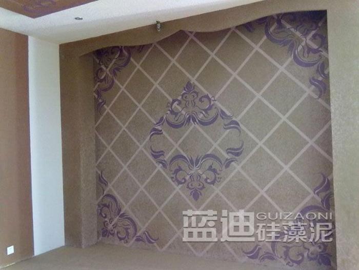 蓝迪硅藻泥 电视墙系列