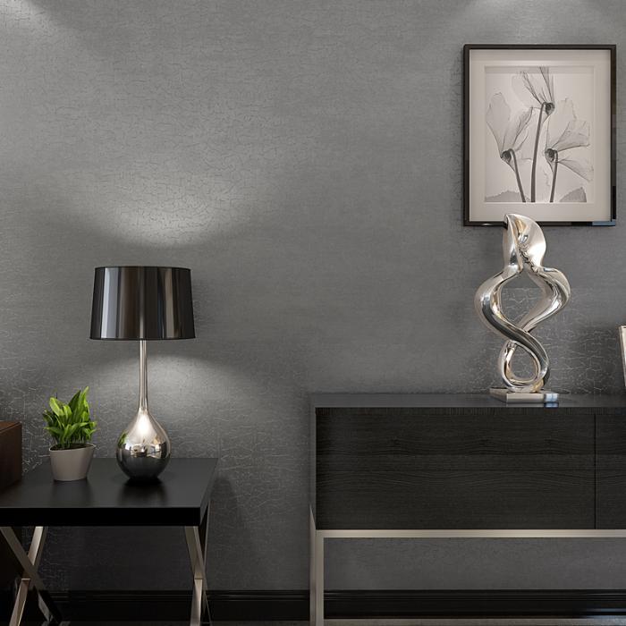 简约现代素色石纹无纺布家装工装客厅卧室壁纸