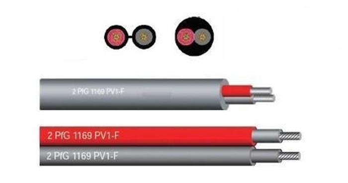 PV1-F太阳能光伏电缆,光伏电缆标准