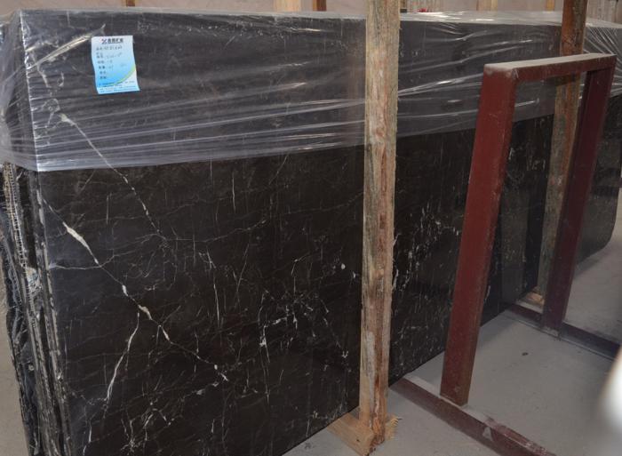 厂家直销黑色石材【自有矿山,货源稳定】黑白根石材石料