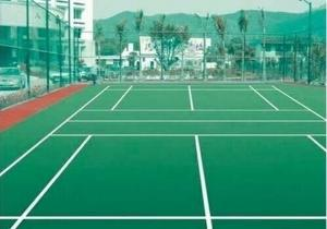 丙烯酸球場地坪 耐候性強、耐磨損性強、優良的抗紫外線性能 廣州市白云區金城新型建材廠