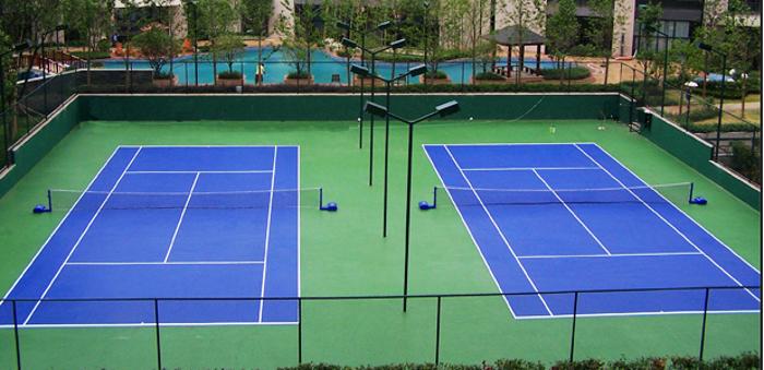 丙烯酸球场地坪 耐候性强、耐磨损性强、优良的抗紫外线性能 广州市白云区金城新型建材厂