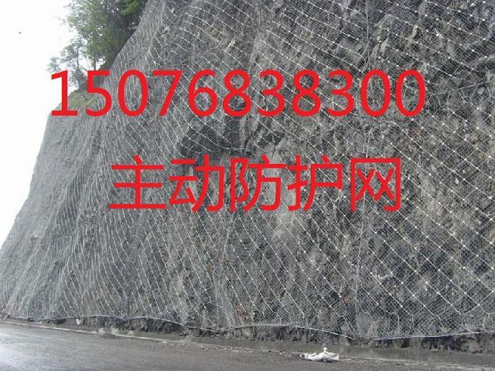 gar2型主动边坡防护网 广东主动防护网厂家