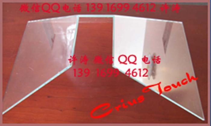 270度/270°无缝拼接全息投影幻影成像玻璃金字塔/玻璃柜-光学级别