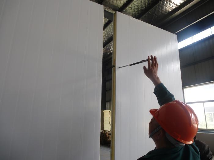 不锈钢聚氨酯冷库保温板