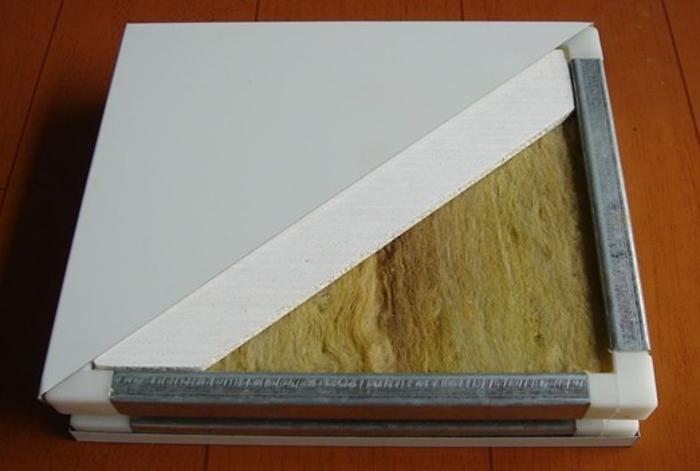 手工净化板、岩棉净化板