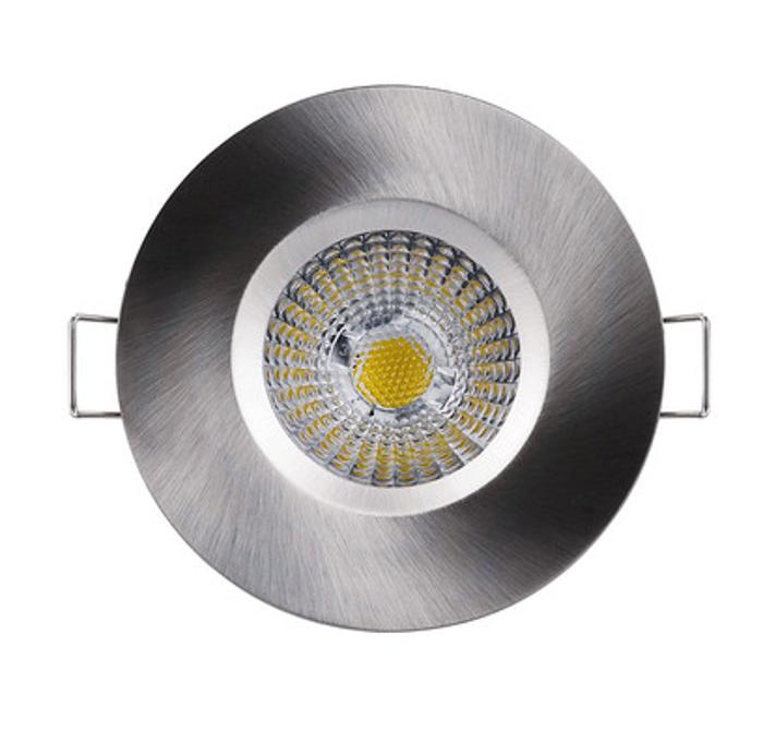 防水浴室射灯 全套客厅家居筒灯 高温白-8瓦暖白光 V6085 8瓦砂白3000K暖黄光 开孔69mm