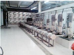 变频稳流给水设备