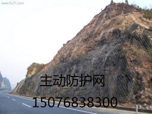 贵州遵义主动边坡防护网被动边坡防护网厂家