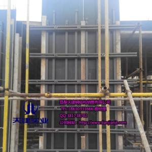 供应数字化立体剪力墙支撑组合钢模工程标准件厂家定制加工