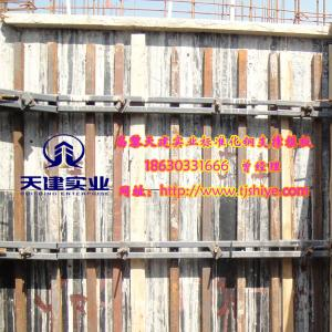 天建高效剪力墙模板支撑立体设计-数字化支撑运作成本少-钢模板