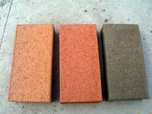 广场砖、步道砖,广场砖 道路砖 地面砖  耐磨、防滑、抗折  东莞市常平通庆新型建筑材料贸易部