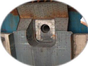 高炉内衬维修用喷补料 强度高、耐侵蚀、附着性好、黏结性强 中冶建筑研究总院有限公司