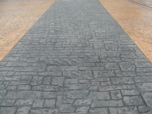彩色壓模地坪材料 耐磨、防滑、抗凍、不易起塵、易清潔、高強度、耐沖擊 北京馨石科技有限公司