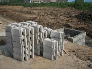 石胜混凝土模块600*300*250 轻质、节能、保温、防火、隔热 武汉石胜建材有限公司