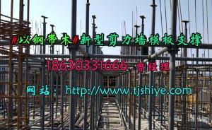 供应标准化钢支撑适用多种规格剪力墙施方案天建厂家定制