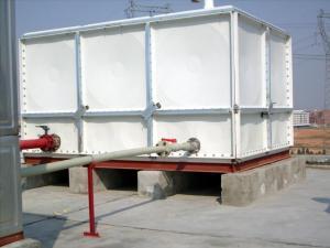 不锈钢水箱玻璃钢水箱镀锌板水箱-消防水箱生活水箱空调水箱
