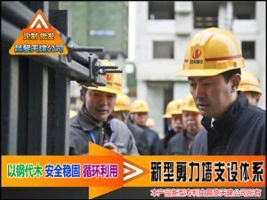 辽宁-新型剪力墙模板支撑-避免出现木方堆积成山