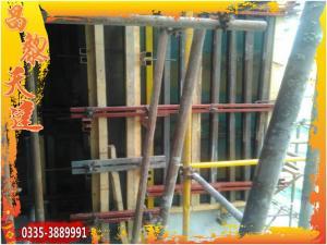 苏州天建建材剪力墙模板支撑体系方钢体系