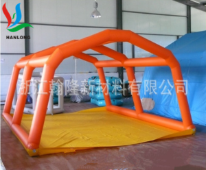 PVC气密布用于充气帐蓬/篷支撑柱、帐蓬/篷骨架,气密性好、耐磨