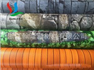 PVC水池围栏布、花色阳台围栏布,防滑 防水 防油污 抗老化
