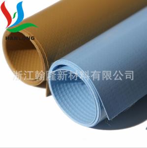 PVC密性充气材料 透气防水TPU涂层 四面弹亮面TPU涂层