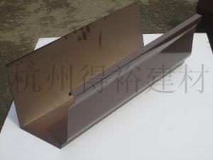 北京成品天沟 落水管 方形雨水管 别墅下水管 雨水斗销售
