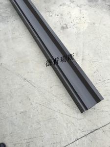 广州成品天沟厂家直销全套金属彩铝屋面天沟别墅排水铝方管