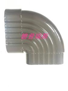 各种金属彩铝雨水管定位器引流器别墅高楼专用雨水管