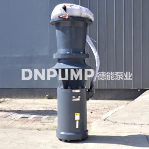 斜拉式簡易型軸流泵_大流量_臨時緊急排水用泵
