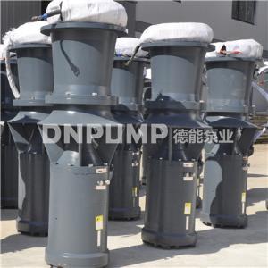 簡易型軸流泵_大流量_斜拉式安裝