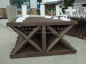 【河道水庫護欄】仿木欄桿 水泥仿木欄桿 專業生產混泥土仿木護欄