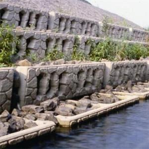 生態環保景觀護岸擋墻護坡模具、階梯式擋墻模具、縫隙式擋墻模具