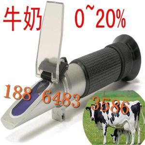 供应恒安HT612ATC温补牛奶浓度计折射仪0-20% 牛奶含水分测试仪