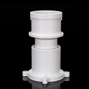 广东力西奇PVC排水管预埋直接排污管配件18年品牌厂家