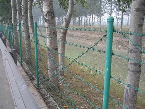 刺铁丝隔离栅 专注高速铁路高架桥工程护栏网