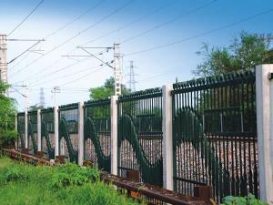 扁铁栅栏 专注高速铁路高架桥工程护栏网