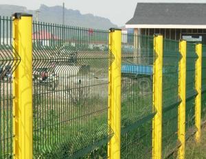 快装网(桃形柱) 专注高速铁路高架桥工程护栏网