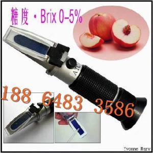 HT110ATC糖度计、甜度计0-5% 饮料果汁甜品糖度检测手持折射仪