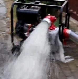 工业排污用进出口4寸口径柴油自吸泵