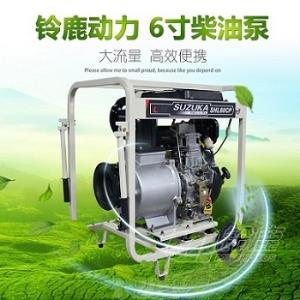 铝合金泵体柴油6寸自吸泵