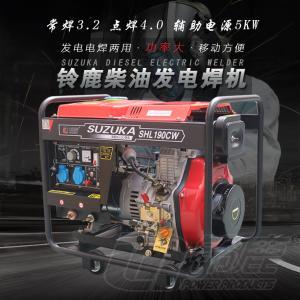 廠家直銷190A柴油發電焊兩用機