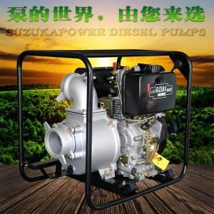 仓库排水用4寸柴油机排涝泵
