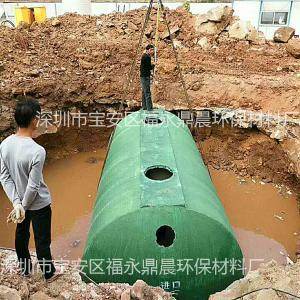 汕尾地埋式晨工雨水收集池生产厂家造价低施工期短安装便捷自产自销